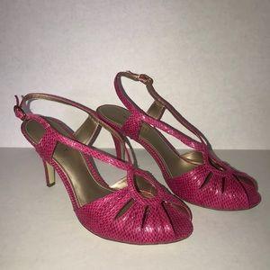 Nine West Shoes - Pink Nine West sandals